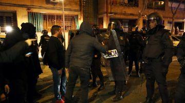Disturbios en Vallecas