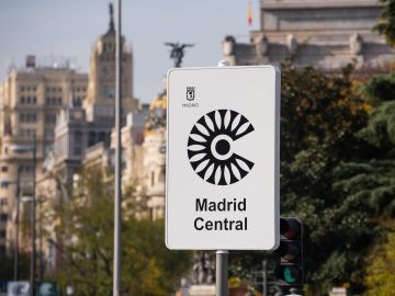 Señal de Madrid Central
