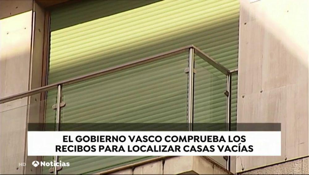 El Gobierno vasco comprobará las facturas de suministros para localizar las casas vacías
