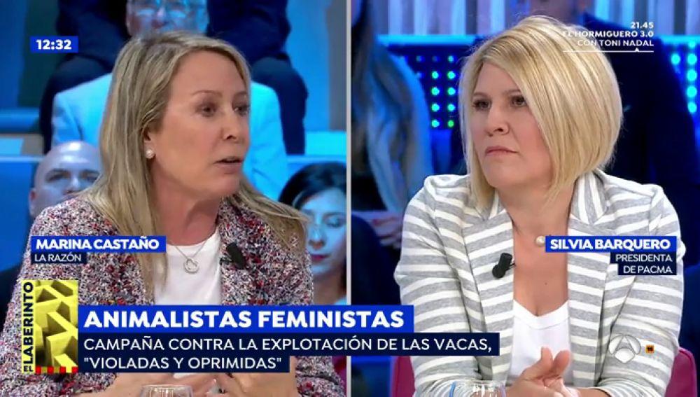 Silvia Barqueiro, presidenta de PACMA