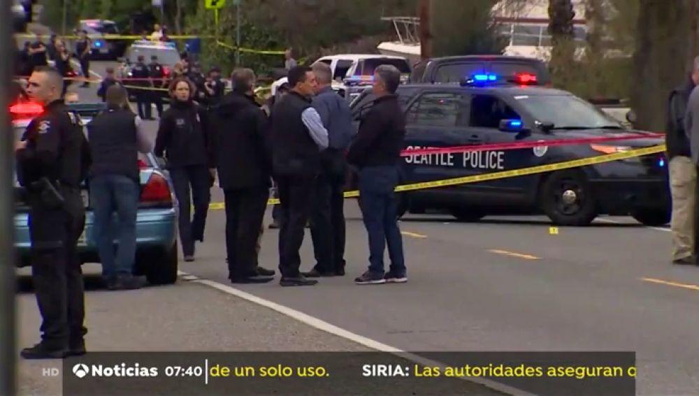 Dos muertos y dos heridos en un tiroteo en el norte de Seattle