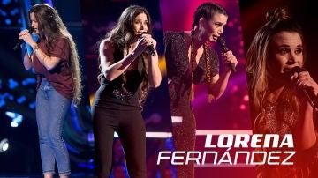 Así han sido las actuaciones de Lorena Fernández en 'La Voz'