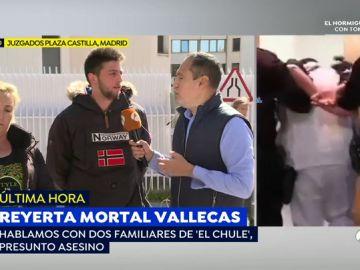 Familiares de 'El Chule' en Vallecas