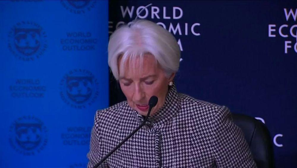 """""""La eurozona no está preparada para otra crisis económica """" dice la presidenta del FMI"""