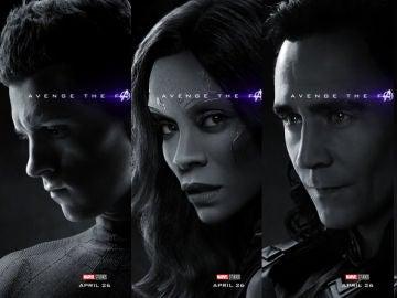 Pósters oficiales de 'Vengadores: Endgame'