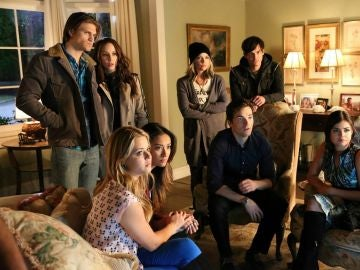 Las parejas de 'Pretty Little Liars'