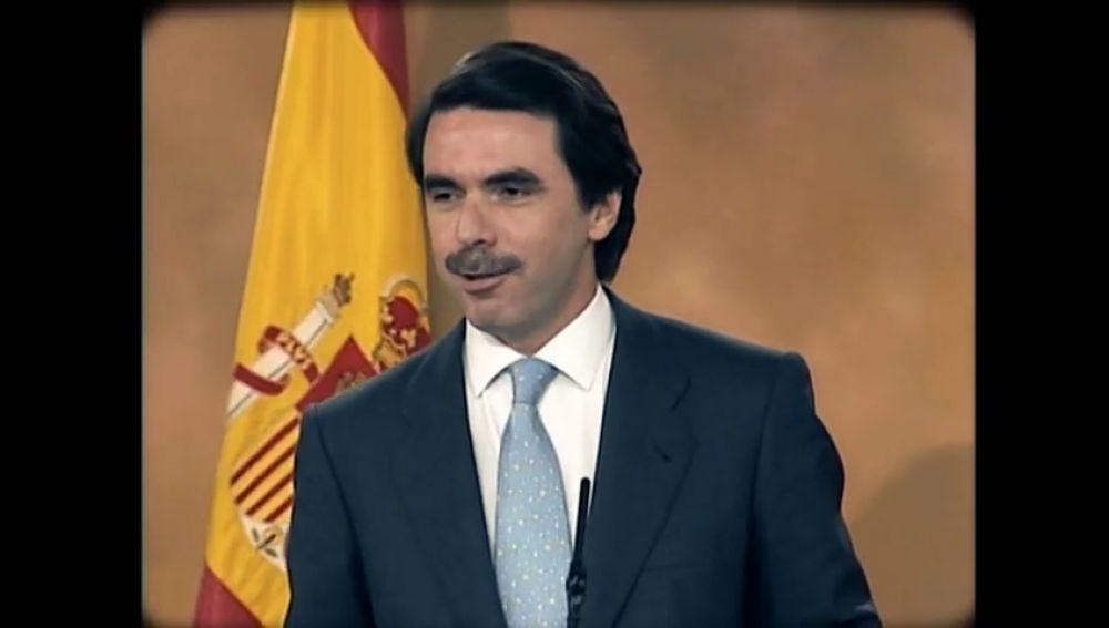 25 años de la victoria de Aznar por primera vez.