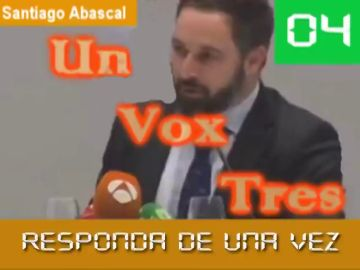 """El nuevo vídeo de Vox: """"Un, Vox, tres...Abascal responde de una vez"""""""