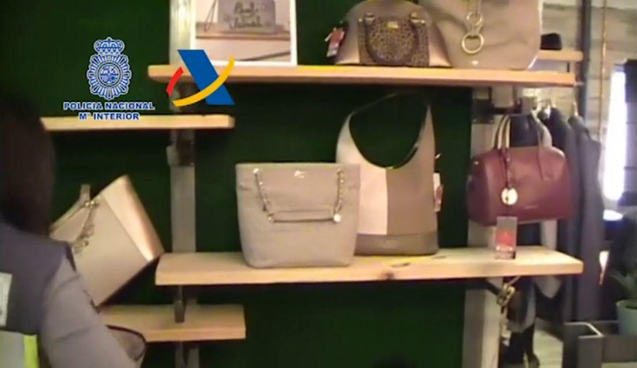 Desmantelada una de las mayores distribuidoras online de productos de lujo falsificados