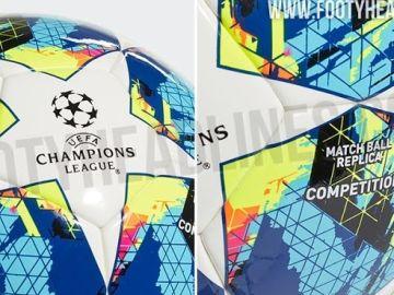 Nuevo balón para la Champions 2019-2020