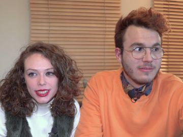Diversión y sinceridad con Álex Alventosa y Naomi Palmer, concursantes de 'Masters de la reforma', al hablar de sus virtudes y defectos