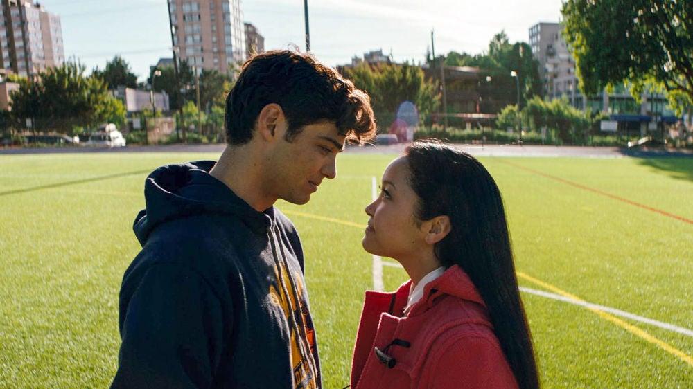 Noah Centineo y Lana Condor en 'A todos los chicos de los que me enamoré'