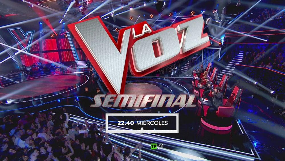 El miércoles a las 22:40 horas, ocho grandes voces se lo juegan todo en la Semifinal de 'La Voz'