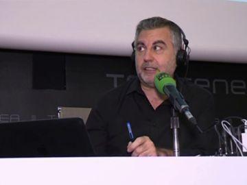 Carlos Alsina con 'Más de Uno' descubre Canarias en el TEA
