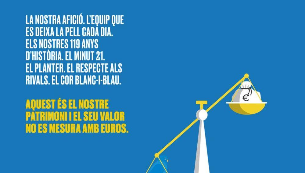 El mensaje del Espanyol dirigido a Piqué