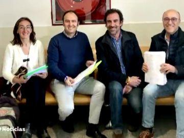 'El Lanas', el candidato de Vox ante la Juanta Electoral de Navarra que está condenado a año medio de prisión por la Audiencia Nacional