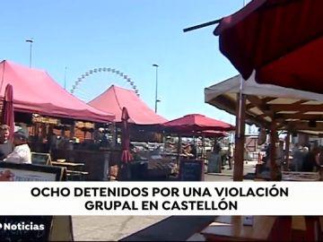 Detenidos seis de los ocho identificados por dos presuntas violaciones en grupo en Castellón