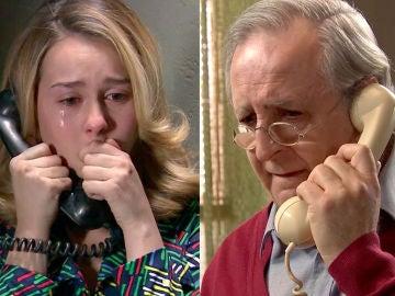 Pelayo trata de convencer a Luisita de que reniegue de su condición sexual