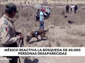 México reactiva la búsqueda de 40 mil personas desaparecidas