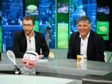 Trancas y Barrancas juegan con Toni Nadal a 'Reveses del revés'