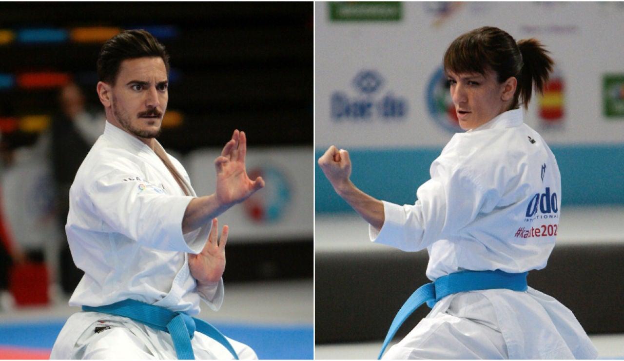 Damián Quintero y Sandra Sánchez, campeones de Europa