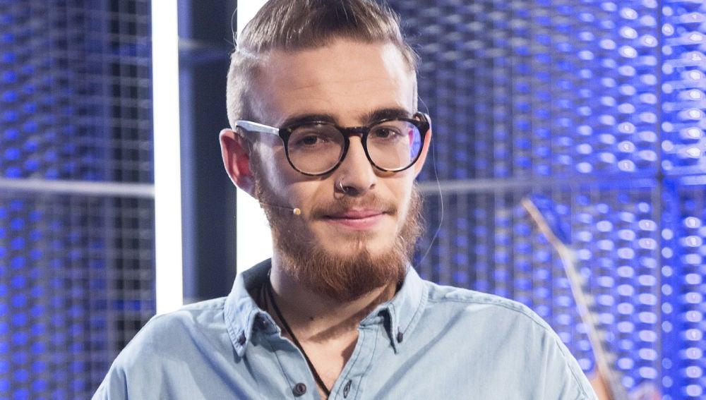 Andrés Martín, talent de 'La Voz'