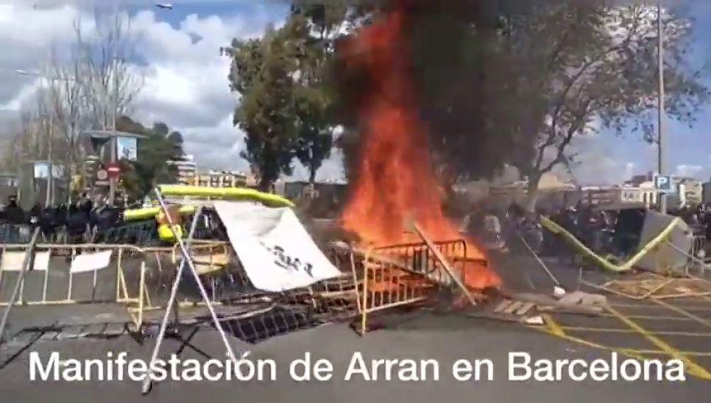Manifestación de Arran en Barcelona