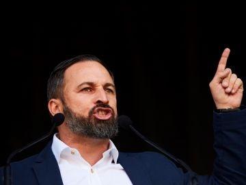 El líder de Vox Santiago Abascal, en una fotografía de archivo