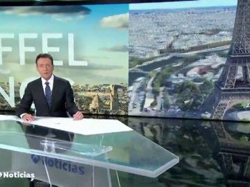 Matías Prats lo vuelve a hacer: se marca un chiste sobre la Torre Eiffel