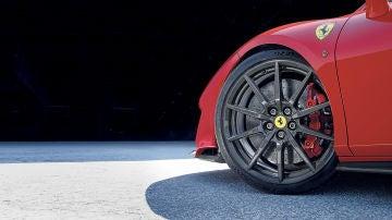 Ferrari 488 pista carbón fiber wheels