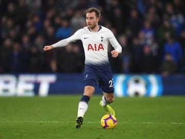 Christian Eriksen, jugador del Tottenham