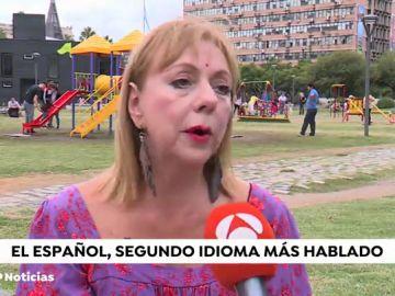 """La periodista y escritora cubana Marya Montero: """"la lengua española está más viva que nunca"""""""