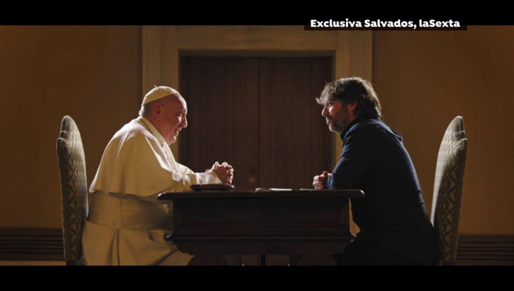 CORRUPCION VATICANO El Papa Francisco en el programa 'Salvados': Diez temas, diez titulares