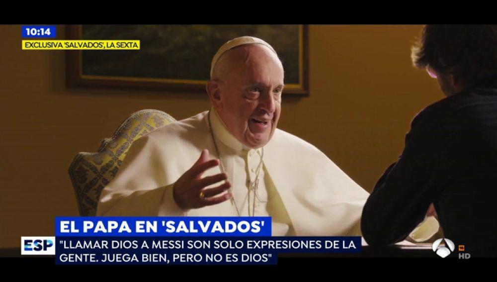 Es Un Sacrilegio Llamar Dios A Messi La Respuesta Del Papa