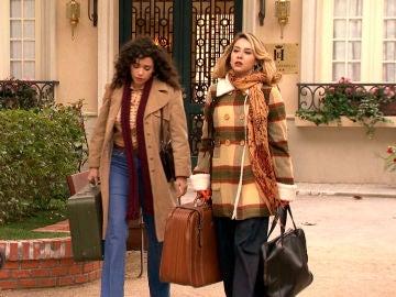 Luisita y Amelia, echadas de su casa