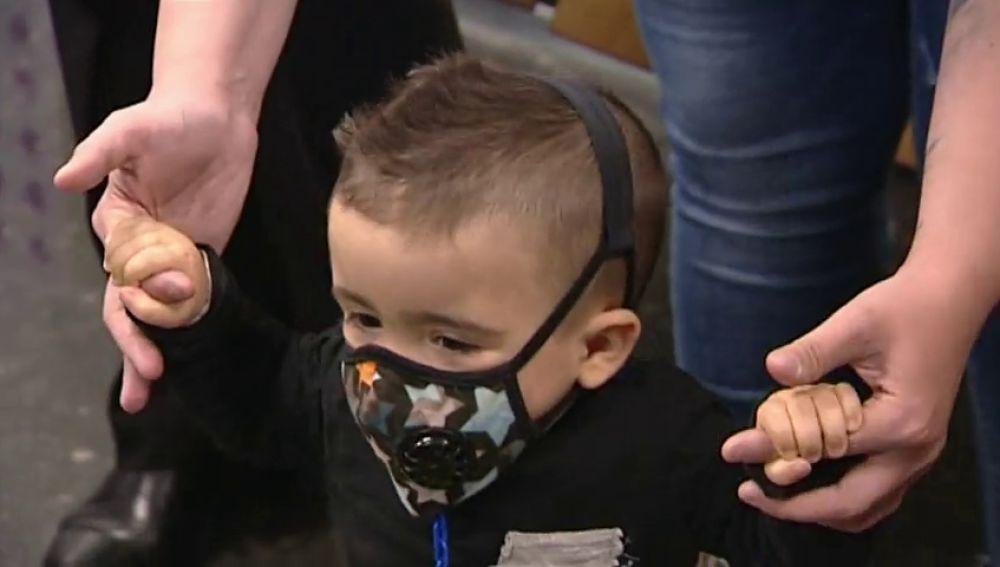 Curan a un niño burbuja con un trasplante de cordón umbilical gracias a un rápido diagnóstico
