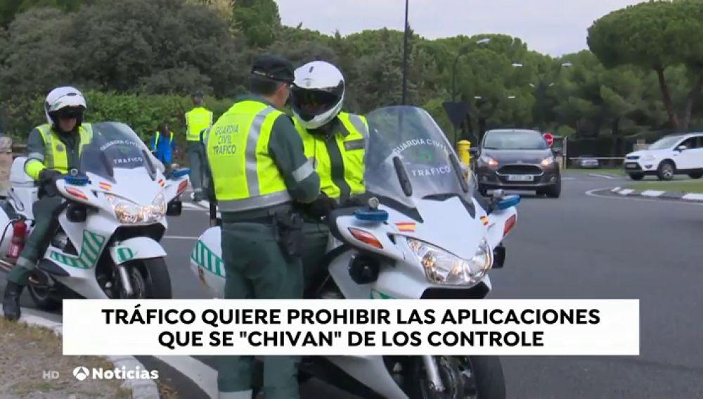 REEMPLAZO DGT y Guardia Civil exigen la prohibición de las aplicaciones que avisan de la localización de los radares