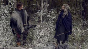 Fotograma del último capítulo de 'The Walking Dead'