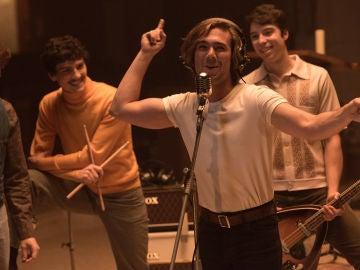 Así grabaron Robert, Maribel y Guillermo el primer sencillo