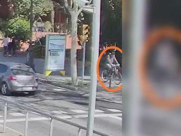 El ciclista que busca la Guardia Urbana