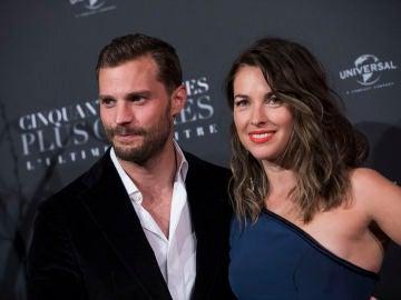 Jamie Dornan y su mujer, Amelia Warner