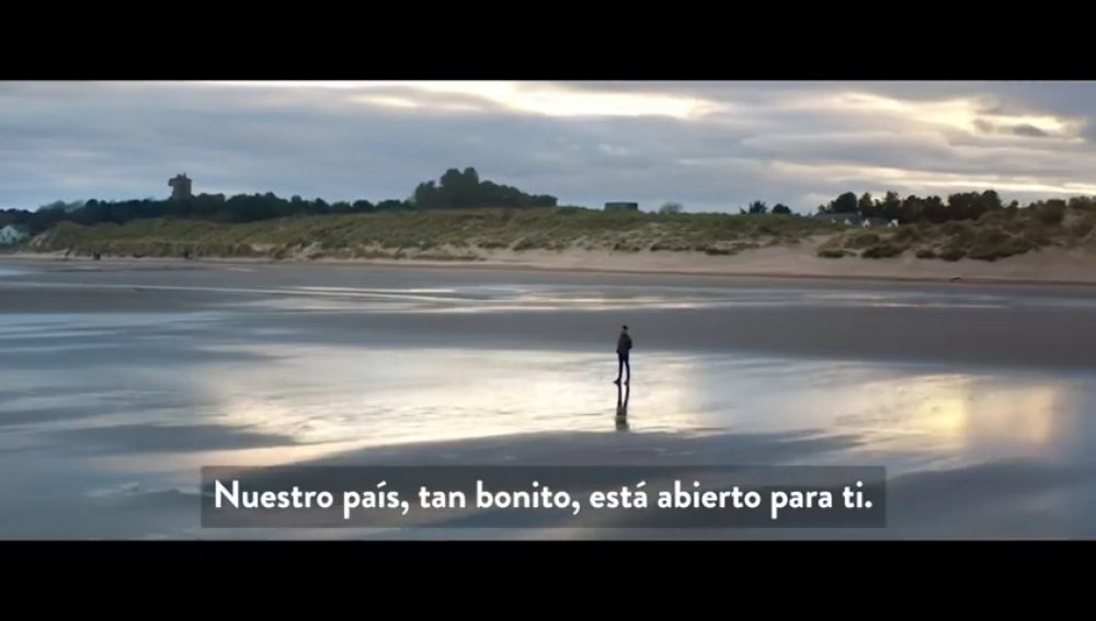 Escocia emite un vídeo promocional dirigido a los europeos