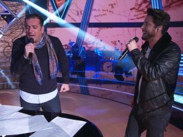 Así ensayan Javi Moya y Manuel Carrasco la canción 'Déjame ser' que interpretarán en la Final de 'La Voz'