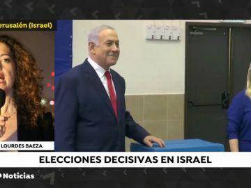 Elecciones en Israel: Gantz se antepone a Netanyahu según las encuestas