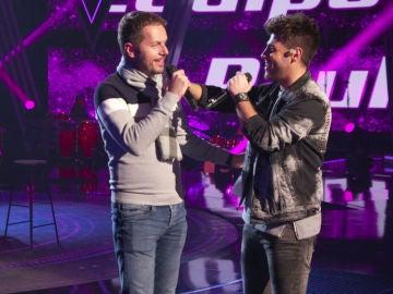 Antonio José y Ángel Cortés ensayan 'A dónde vas', su dueto para la Final de 'La Voz'