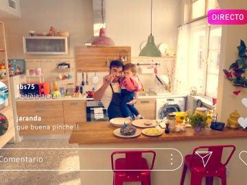 Iñaki se convierte en fenómeno viral como cocinero 'multiuso'