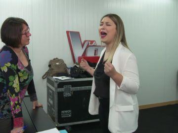 Así da su toque personal María Espinosa a 'Amiga mía', el tema que cantará con Alejandro Sanz en la Final de 'La Voz'