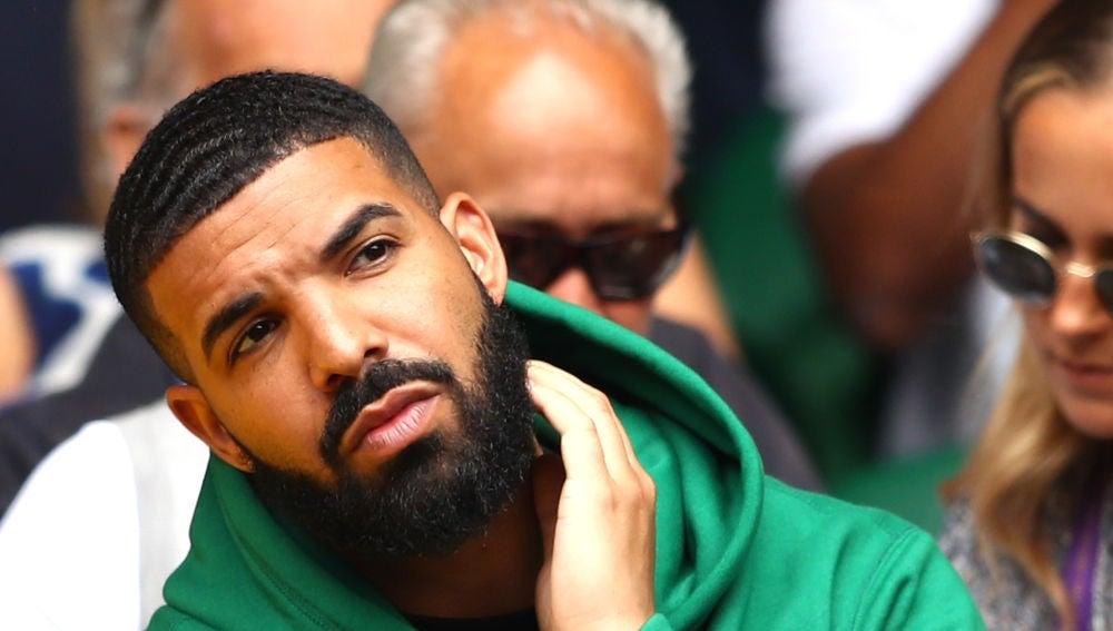 Drake durante un partido