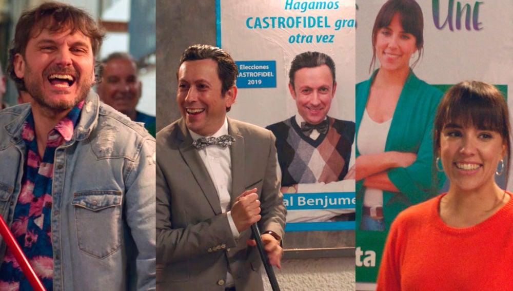 Jozé, Cristóbal y Lola, a por la alcaldía de Castrofidel