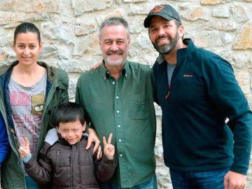 El hijo de Donald Trump de caza en Soria